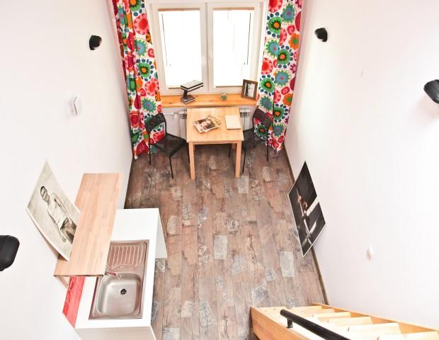 Przytulne studio w Warszawie dla dwóch osób