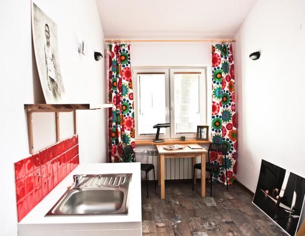 Apartament z aneksem kuchennym  w centrum Warszawy