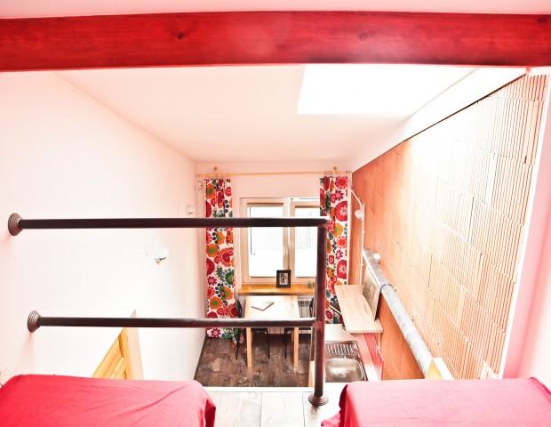 Apartament dla dwóch osób z sypialnią na natresoli