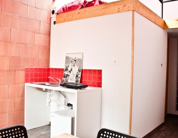 Apartament dla czterech osób z aneksem kuchennym